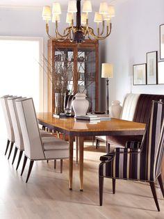 Hickory Chair Mahogany Table