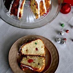 Deliciously soaked in rum and tuttifrutti, this cake is a nostalgic holiday treat! Try it to believe it!