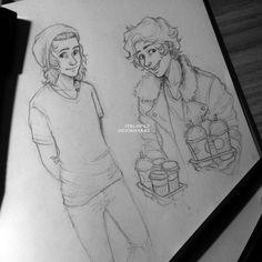 Coffee Boy by itslopez on DeviantArt