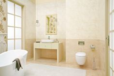 Cuccino tile and white color in small bathroom beige tile bathroom dream home design ideas. Old Bathrooms, Dream Bathrooms, Amazing Bathrooms, Small Bathroom, Beige Tile Bathroom, Bathroom Decor Pictures, Modern Shower, Dream Home Design, Cool Diy Projects
