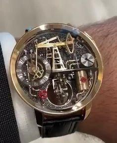 Diesel Watches For Men, Best Watches For Men, Luxury Watches For Men, Fancy Watches, Expensive Watches, Cool Watches, Cartier, Watches Photography, Skeleton Watches