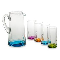 Libbey® Impressions Colors 5-Piece Drinkware Set - BedBathandBeyond.com