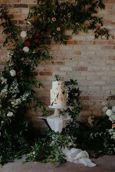 Intimate Indoor Elopement Inspiration - Inspired By This East Grand Rapids, Wedding Reception, Wedding Day, Creative Wedding Cakes, Elopement Inspiration, Different Textures, Wedding Desserts, Industrial Wedding, Elopements