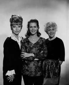Samantha with her mother and mother in law.