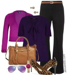 Plus Size Work Outfit - Plus Size Fashion for Women - Alexa Webb - alexawebb.com #plus #size #alexawebb