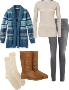 UGG SNOW BOOTS - The Adirondack Boot. Now these are uggs I'd actually wear!