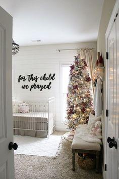 Baby Girl Christmas Nursery - The Hamby Home