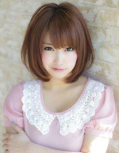 blendy99:    小顔でボリュームのあるミディアムヘア☆ - AFLOAT JAPAN / アフロートジャパン 【銀座の美容室】 [東京都] - スタイル -