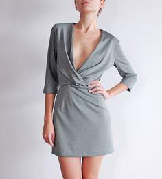 Szyjemy Sukienki Thrifting, Wrap Dress, Shopping, Dresses, Fashion, Vestidos, Moda, Fashion Styles, Budget