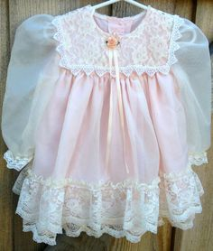 80s Princess Dress 1824 Months by lishyloo on Etsy, $14.00