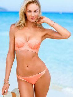 Hot pink Victoria's Secret swim wear 2014 NEW Summer collection