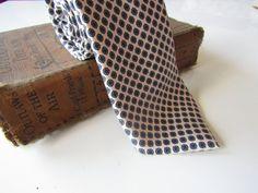 Men's Vintage 100% Silk 'St Michael' Retro by CountingTeacups