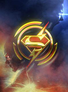 Supergirl X The Flash - Bosslogic Inc