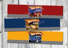 hot wheels birthday party | Hot Wheels Water Bottle Labels Printable Car by partyprintouts