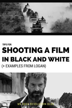 MsRockRevolution: Shooting a Film in Black and White ( + Examples from Logan) Rock Revolution, Logan, Irish, Ms, Black And White, Film, Movie Posters, Movie, Films