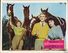 Rare film & TV classics on DVD!: Disney: The Horsemasters (1961) Tommy Kirk, Annette Funicello, Janet Munro, Donald Pleasence