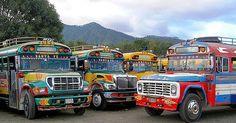 Chicken Buses of Guatemala   Amusing Planet