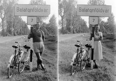 Párosan szép az élet - 1951-ben, Balatonföldvár határában is.