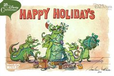 Happy Holidays from Swampy!