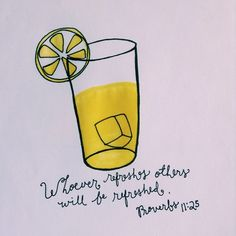"""""""A generous person will prosper; whoever refreshes others will be refreshed."""" [Proverbs 11:25]   Art by gabydoodles"""