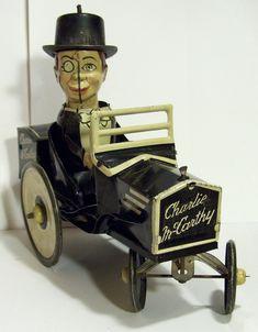 Antique Marx Mar toys Charlie McCarthy & Edgar Bergen tin wind up Victorian Toys, Origami, Toy 2, Metal Toys, Top Toys, Classic Toys, Antique Toys, Toy Boxes, Vintage Dolls