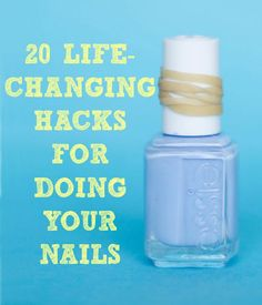 27 Nail Hacks For The Perfect DIY Manicure | DIY Craft Project