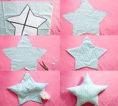diy star pillow tutorial full