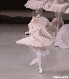 Anastasia Lukina in The Sleeping Beauty.