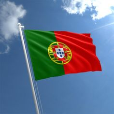 Portugal World Cup Country Flag x Portuguese Eyelet Flag. Portuguese Flag, Portuguese Lessons, Portuguese Culture, Learn Portuguese, Portuguese Recipes, Flag Shop, Buy Flags, World Geography, Outdoor Flags