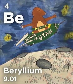 Be - Beryllium tastes sweet but is toxic & carcinogenic—so just take our word for it! (It also slows down particles emitted in nuclear fission & was used by Enrico Fermi to produce the first nuclear chain reaction) Enrico Fermi, Chain Reaction, Slow Down, Chemistry, Periodic Table, Board, Sweet, Candy, Periodic Table Chart