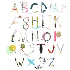 alphabet by Luci Everett