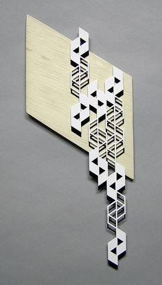 medium falling parallelograms by sandra fettingis, via Flickr