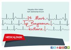 Hayata ritim katan tüm doktorlarımızın #14MartTıpBayramı kutlu olsun!