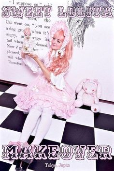 Do you love Japanese fashion subcultures?Head over to Maison de Julietta for a Sweet Lolita makeover in the heart of Harajuku, Tokyo, Japan.