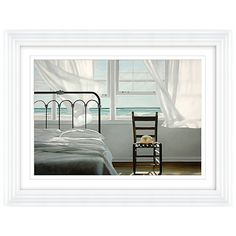 Buy Karen Hollingsworth - Dream Of Water Framed Print, 87 x from our Pictures range at John Lewis & Partners. Water Frame, Open Window, White Bedroom, Box Frames, Minimalism, New Homes, Home And Garden, Framed Prints, Interior