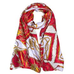 4.93$  Watch now - http://diyha.justgood.pw/go.php?t=187433201 - Stylish Bohemian Ethnic Belt Chain Pattern Women's Silky Satin Scarf 4.93$