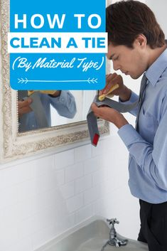 Whether you own cotton, silk, wool, or any other necktie material, our simple step-by-step guide will show you how to clean a tie without fuss or damage. Laundry Storage, Diy Storage, Silk Wool, Cotton Silk, Doing Laundry, Step Guide, Cleaning, Tie, Simple