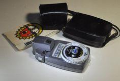 Gossen Lunasix 3 Exposure Meter  Circa 1960s. by DLDowns on Etsy, $193.00