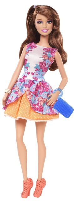 Barbie - Teresa Fashionista, muñeca fashion (Mattel BCN41): Amazon.es: Juguetes y juegos