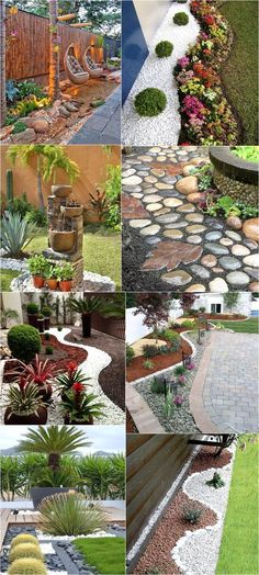 Stunning Designs for Decorated Garden Landscaping is part of Front lawn Design - Garden is a vital part of your home It increases the value of your property Whether it be your front lawn or backyard, you … Succulent Landscaping, Front Yard Landscaping, Landscaping Ideas, Lawn And Garden, Garden Art, Home Garden Design, Sprinklers, Garden Planning, Outdoor Gardens