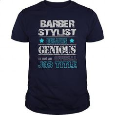 Awesome Barber Stylist Shirt - #shirt #hooded sweatshirts. PURCHASE NOW => https://www.sunfrog.com/Jobs/Awesome-Barber-Stylist-Shirt-116670250-Navy-Blue-Guys.html?60505