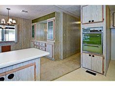 Sweet vintage mobile home