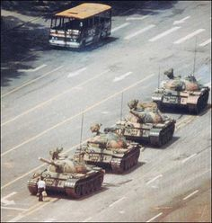 """Stand up for what you believe (1989 tiananmen square """"tank man"""")"""