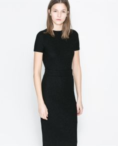 ZARA - NEW THIS WEEK - V-BACK DRESS
