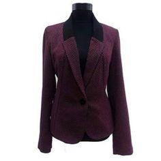sacou Coral, Blazer, Fashion, Atelier, Moda, Fashion Styles, Blazers, Fashion Illustrations