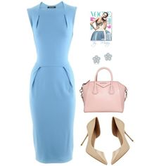 """""""Cotton-candy"""" by mirary on Polyvore"""