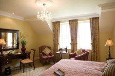 The Hotels's Lakeview Rooms have superb panoramic views over Castle Hume Lough and The Faldo Championship Golf Course.