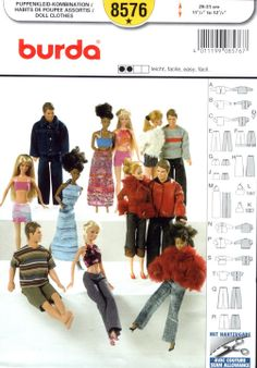 Free Copy of Pattern - Burda 8576