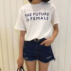 The Future is Female Shirt via httpsushi. Click on the image to see more!