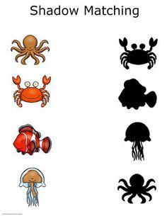Ocean Animals Preschool Packet by Preschool Powol Packets Sea Activities, Preschool Activities, Preschool Lessons, Preschool Worksheets, Classroom Fun, Classroom Activities, Sea Crafts, Ocean Themes, English